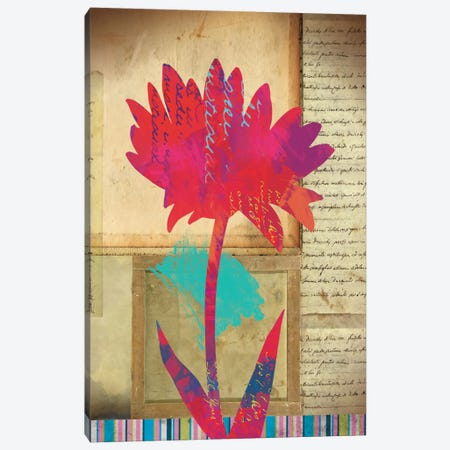 Floral Notes I Canvas Print #WAC1699} by Dominic Orologio Canvas Wall Art