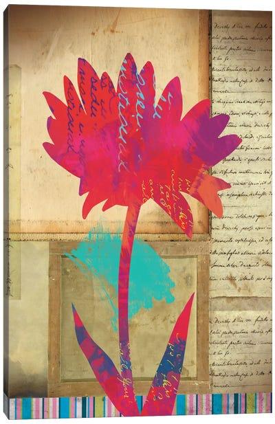 Floral Notes I Canvas Art Print