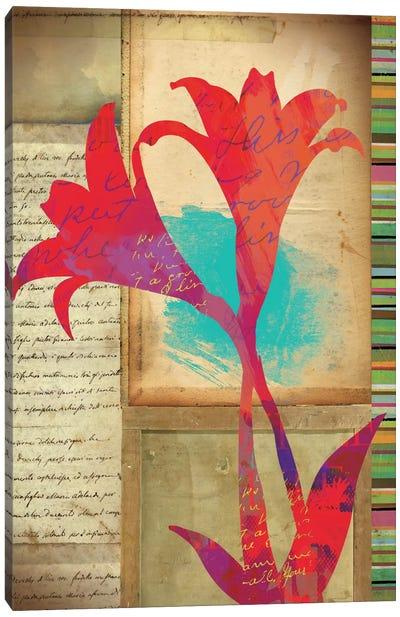 Floral Notes II Canvas Art Print