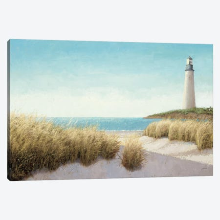 Lighthouse by the Sea Canvas Print #WAC1705} by James Wiens Canvas Print