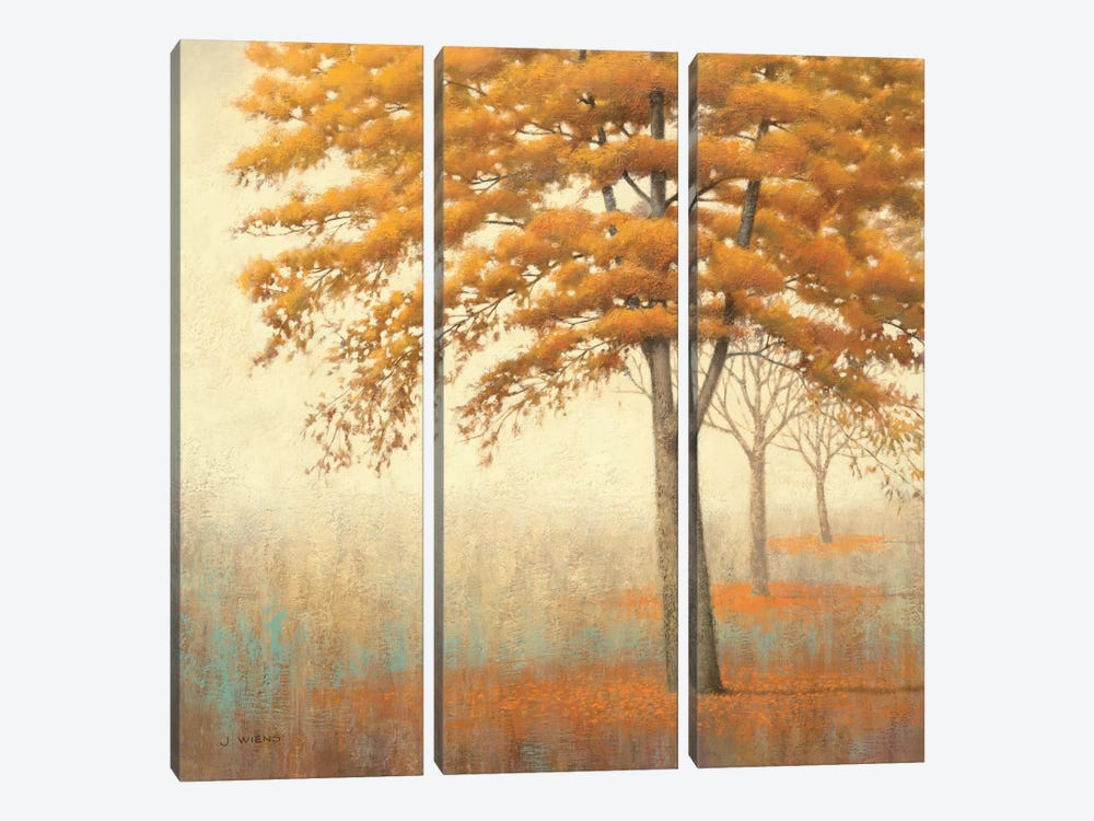 Autumn Trees I by James Wiens 3-piece Canvas Art Print