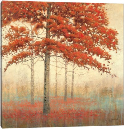Autumn Trees II Canvas Art Print