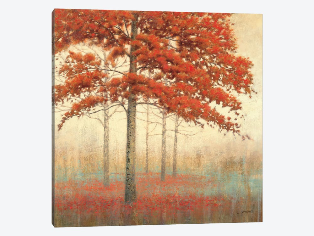 Autumn Trees II by James Wiens 1-piece Canvas Artwork