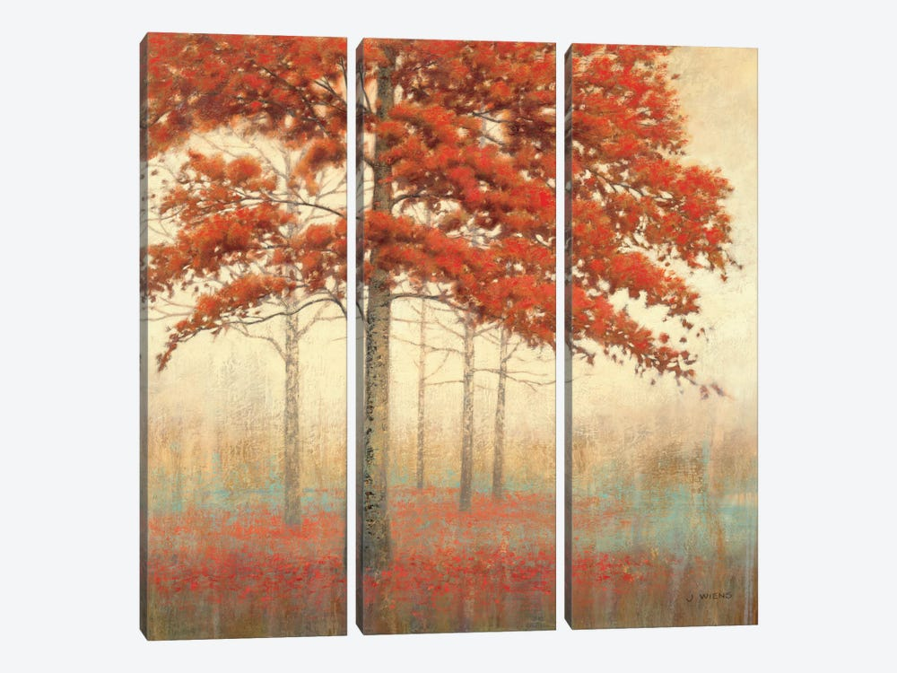 Autumn Trees II by James Wiens 3-piece Canvas Artwork