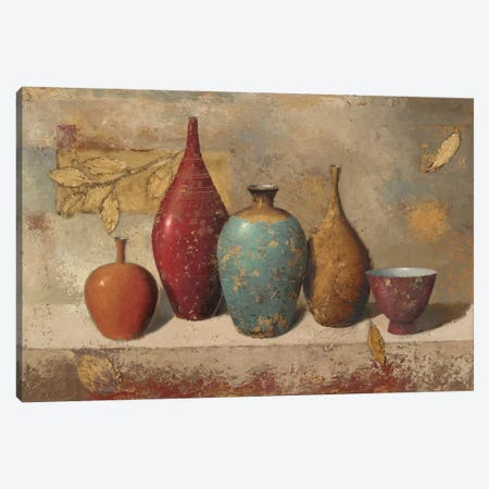 Leaves and Vessels Canvas Print #WAC1714} by James Wiens Canvas Wall Art