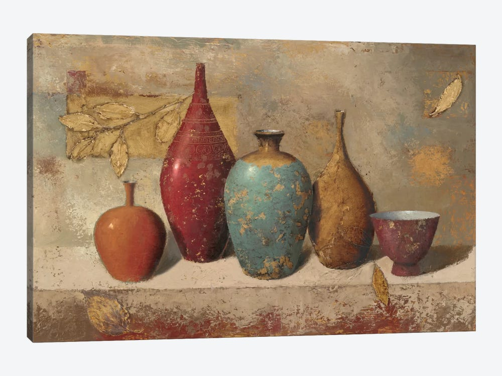 Leaves and Vessels by James Wiens 1-piece Canvas Artwork