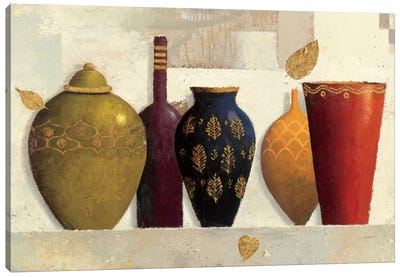 Jeweled Vessels Canvas Art Print