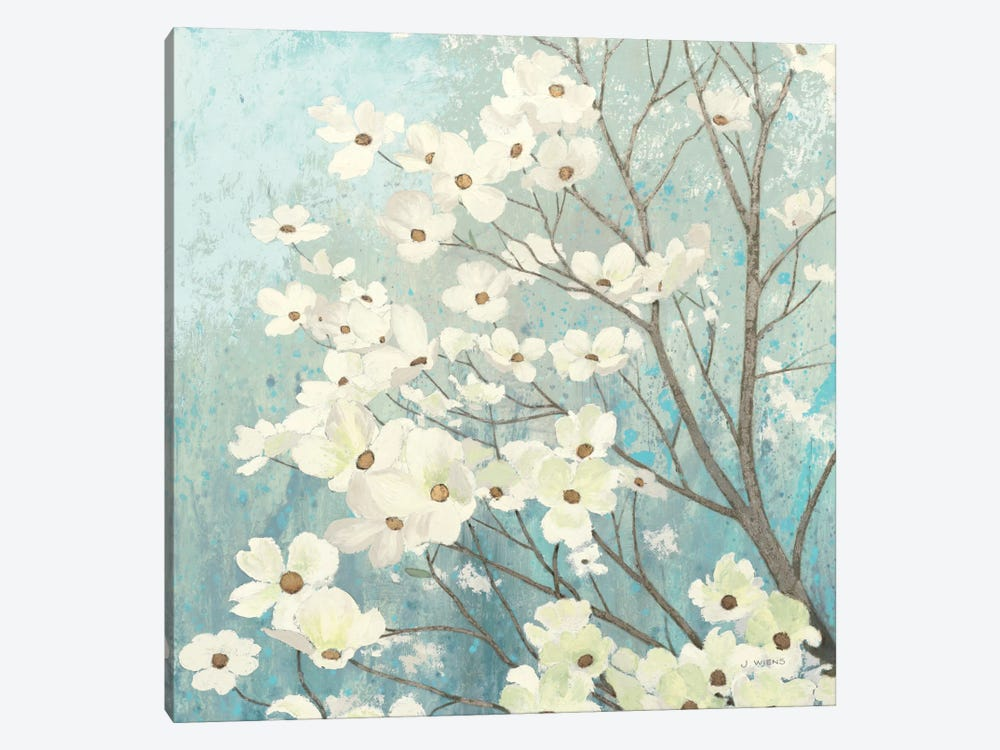 Dogwood Blossoms I by James Wiens 1-piece Canvas Wall Art