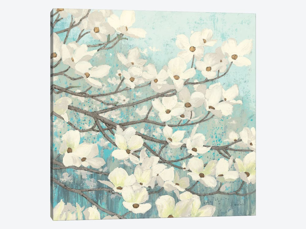 Dogwood Blossoms II by James Wiens 1-piece Canvas Print