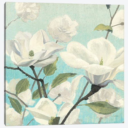 Southern Blossoms II Square Canvas Print #WAC1721} by James Wiens Canvas Art