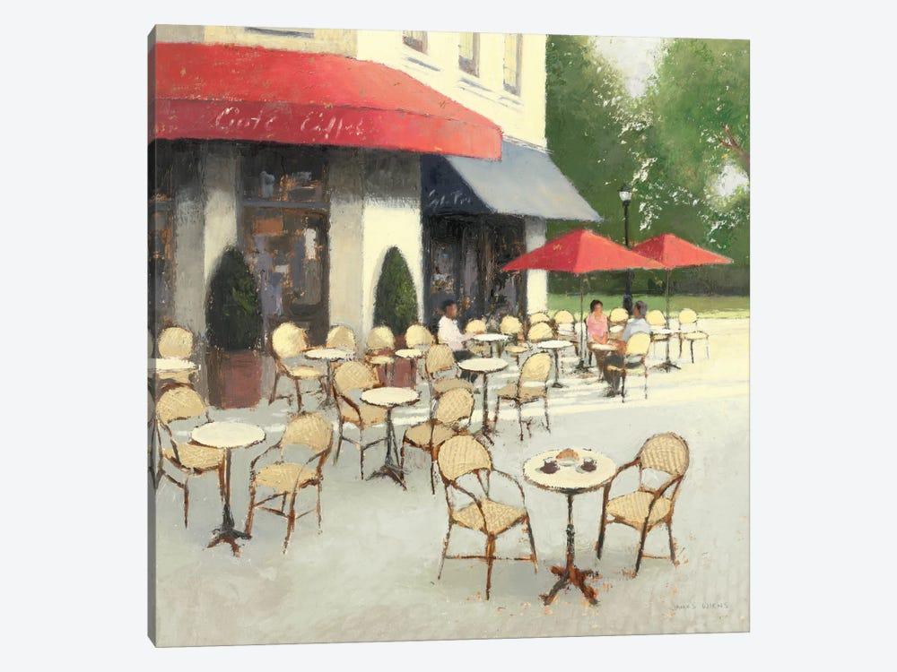 Cafe du Matin II by James Wiens 1-piece Art Print