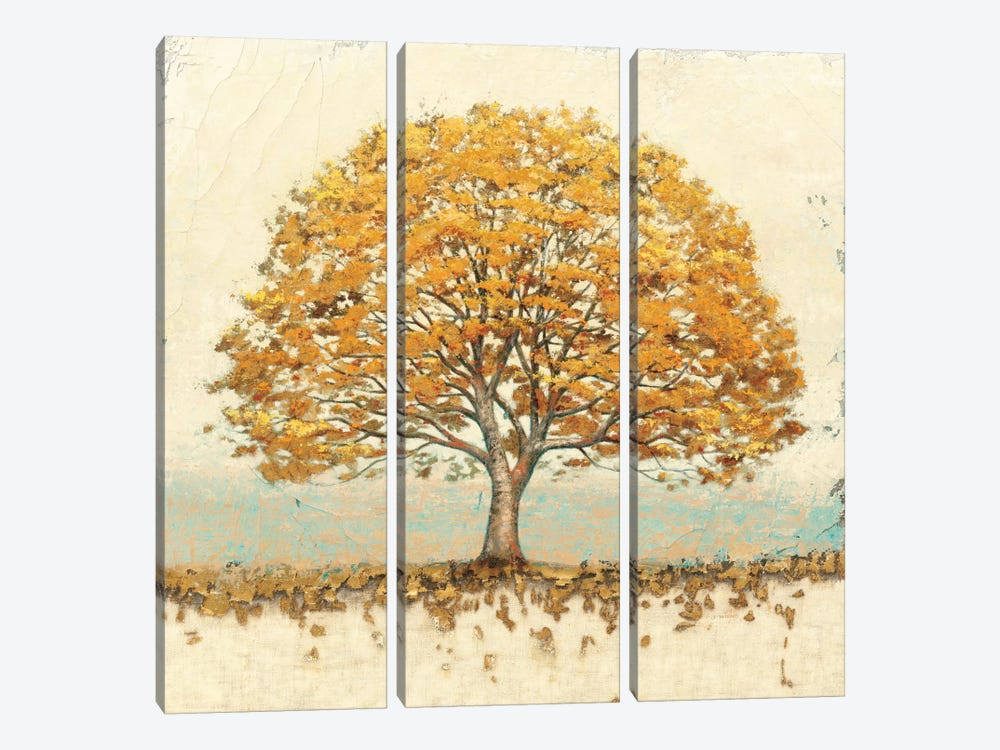 Golden Oak by James Wiens 3-piece Canvas Art
