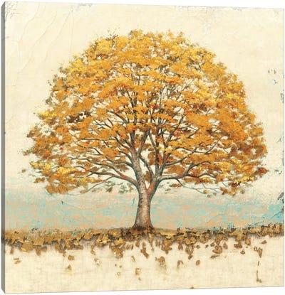 Golden Oak Canvas Art Print