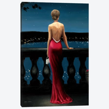 Thinking of Him Canvas Print #WAC1736} by James Wiens Canvas Wall Art