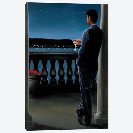 Thinking of Her Canvas Print #WAC1737} by James Wiens Canvas Art