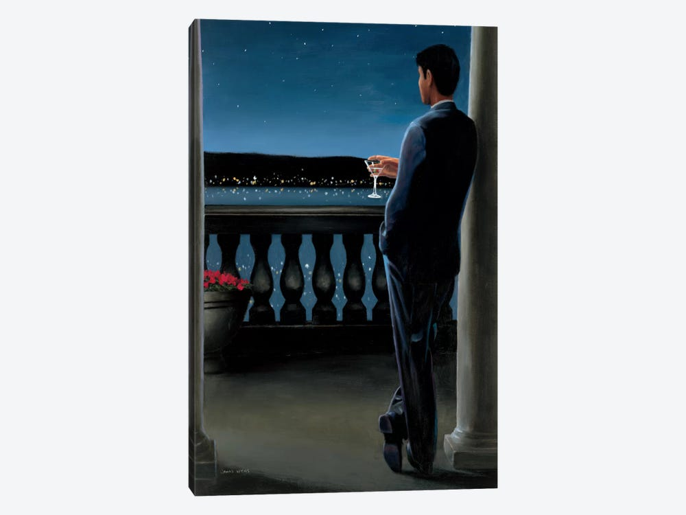 Thinking of Her by James Wiens 1-piece Canvas Art Print