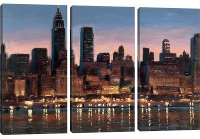 Manhattan Reflection Canvas Art Print