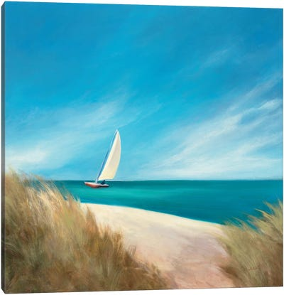 Sunday Sail Canvas Art Print