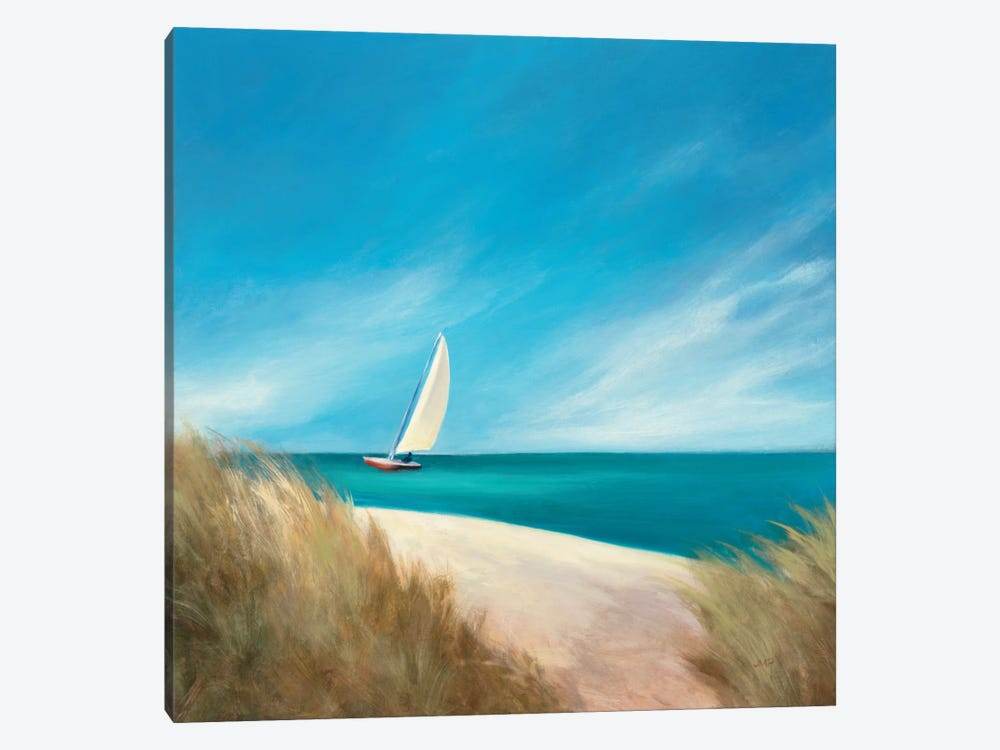 Sunday Sail by Julia Purinton 1-piece Canvas Artwork