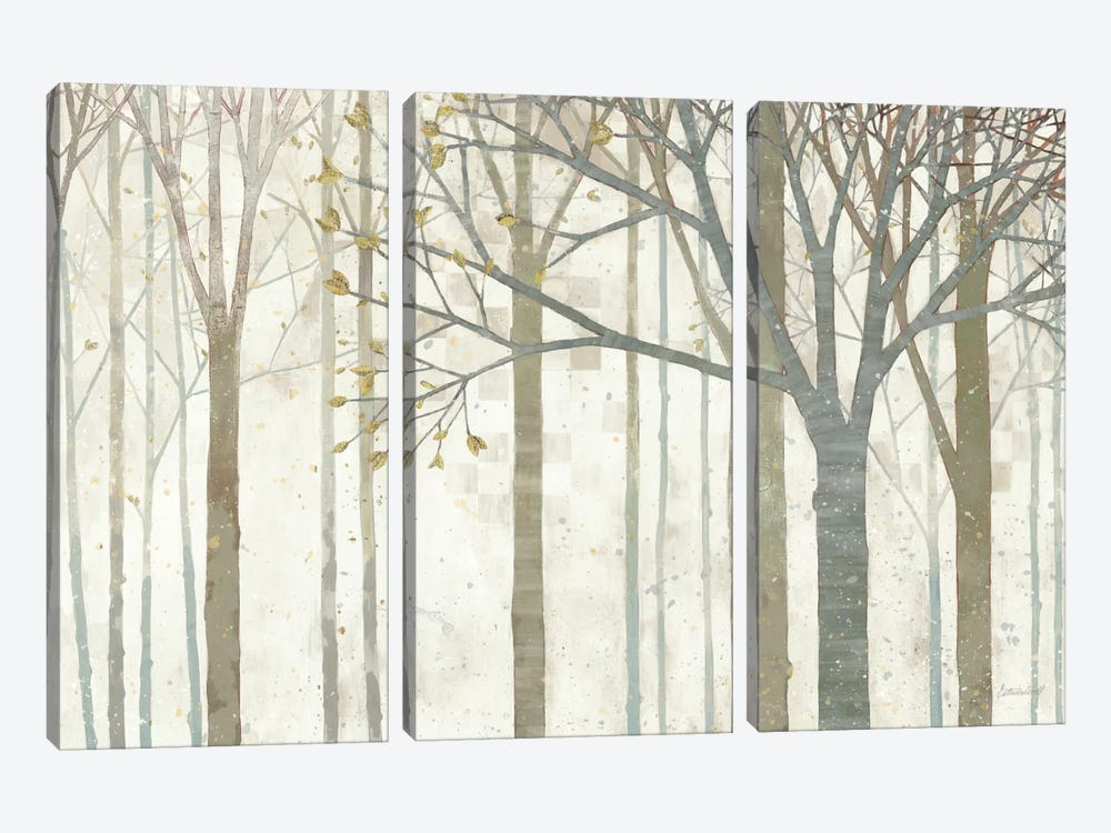 In Springtime no Border by Kathrine Lovell 3-piece Canvas Artwork