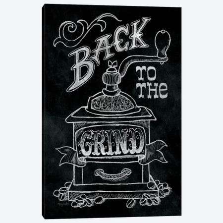 Back to the Grind Canvas Print #WAC1776} by Mary Urban Canvas Wall Art