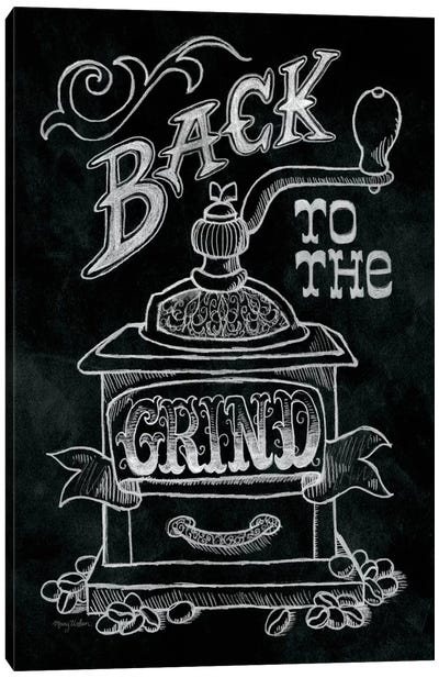 Back to the Grind Canvas Art Print