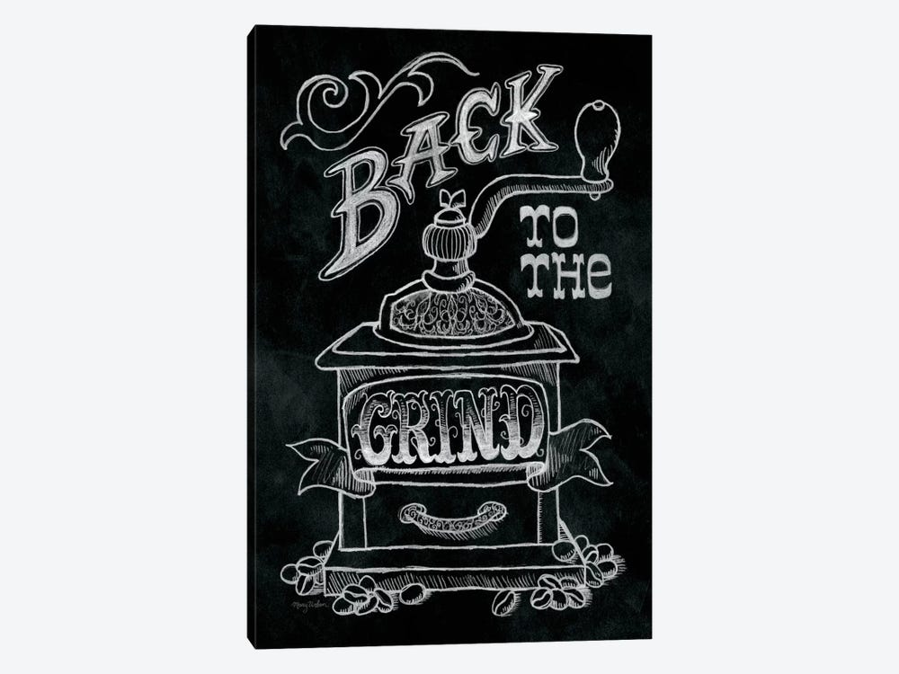 Back to the Grind by Mary Urban 1-piece Canvas Artwork