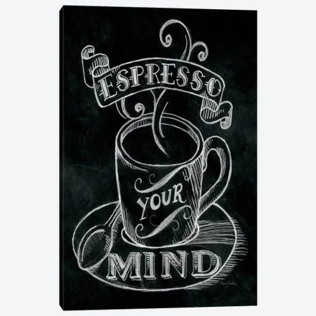 Espresso Your Mind Canvas Print #WAC1777} by Mary Urban Canvas Wall Art