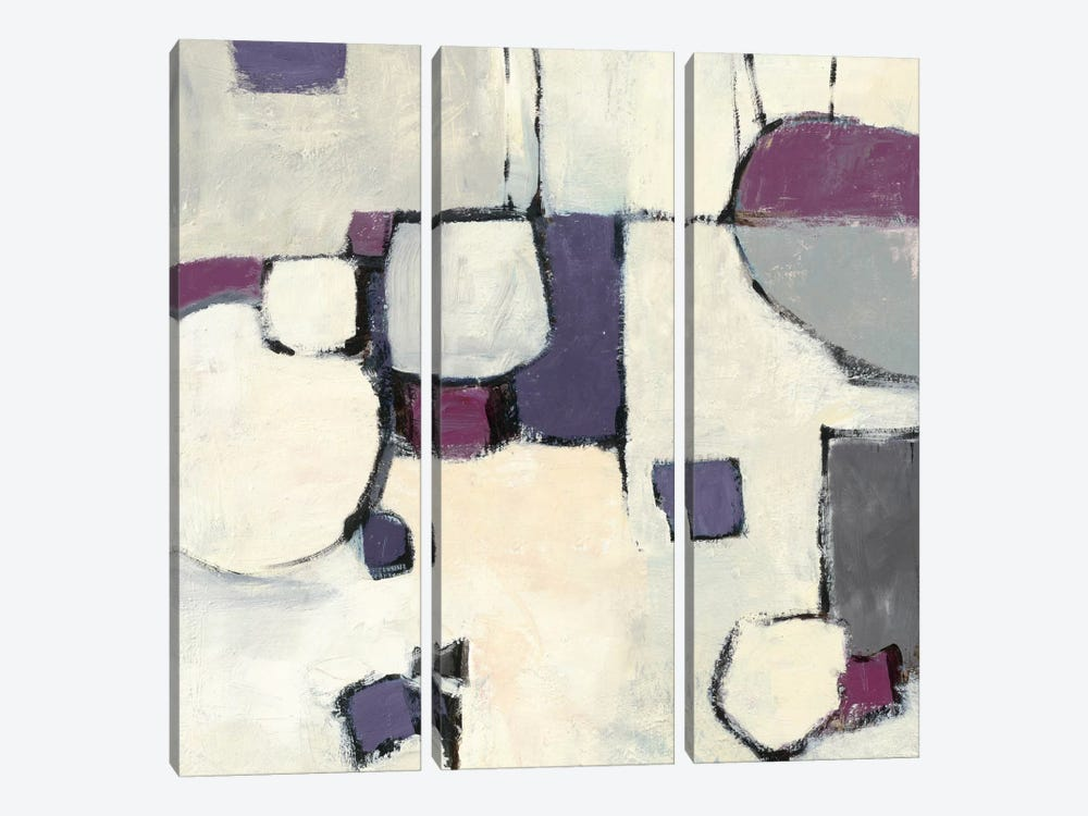 White Out II by Mike Schick 3-piece Canvas Artwork