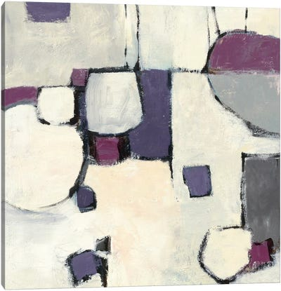 White Out II Canvas Art Print