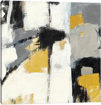 Yellow Catalina I Canvas Art Print