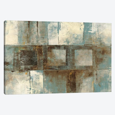 Euclid Ave Variations Blue & Brown Canvas Print #WAC1786} by Mike Schick Art Print