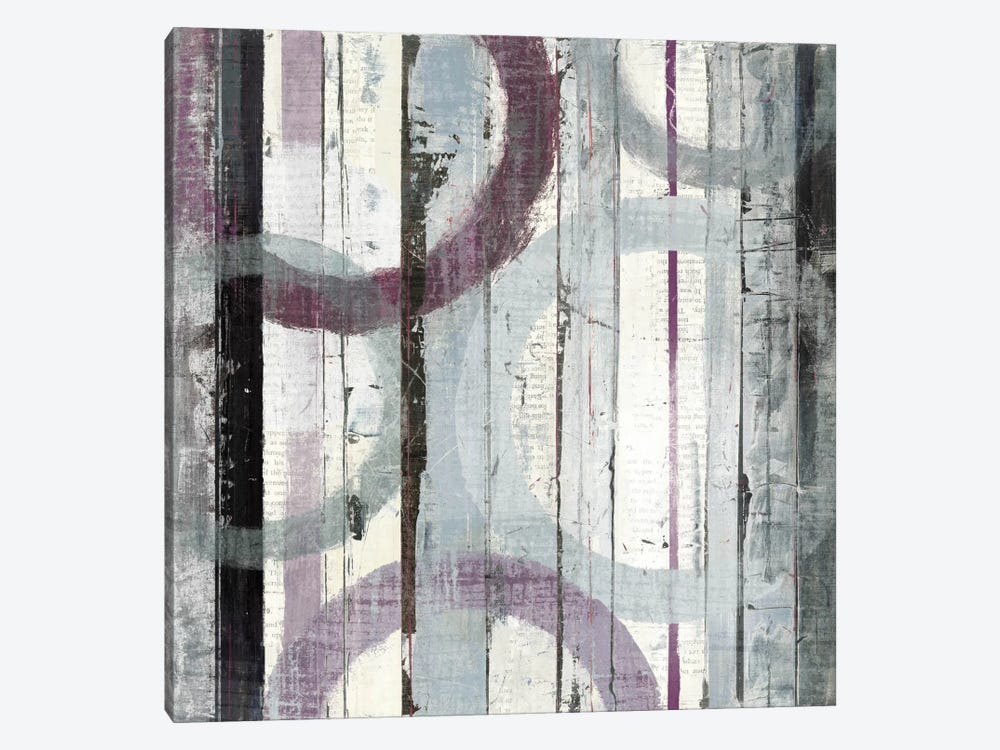 Plum Zephyr I by Mike Schick 1-piece Canvas Wall Art