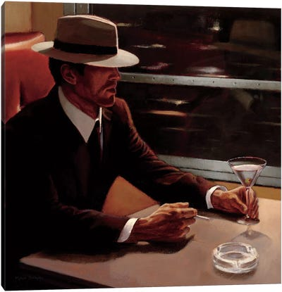 Dry Martini Crop I Canvas Print #WAC1799