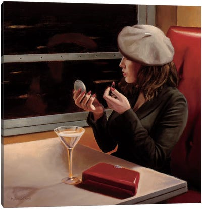Dry Martini Crop II Canvas Print #WAC1800