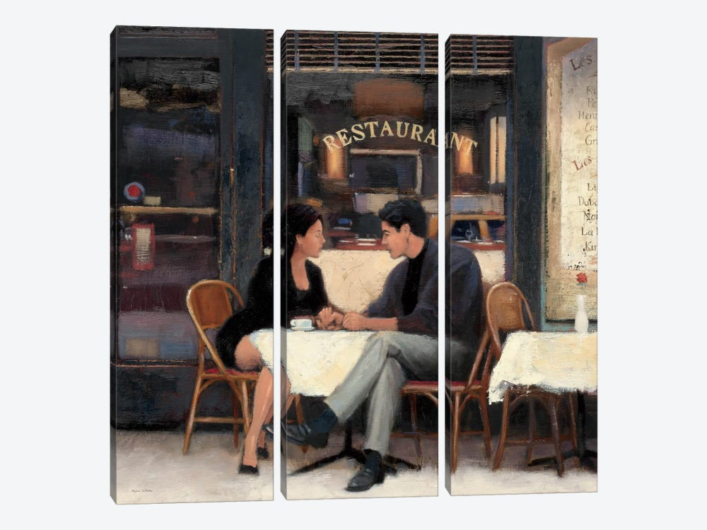 Rendezvouz by Myles Sullivan 3-piece Canvas Wall Art