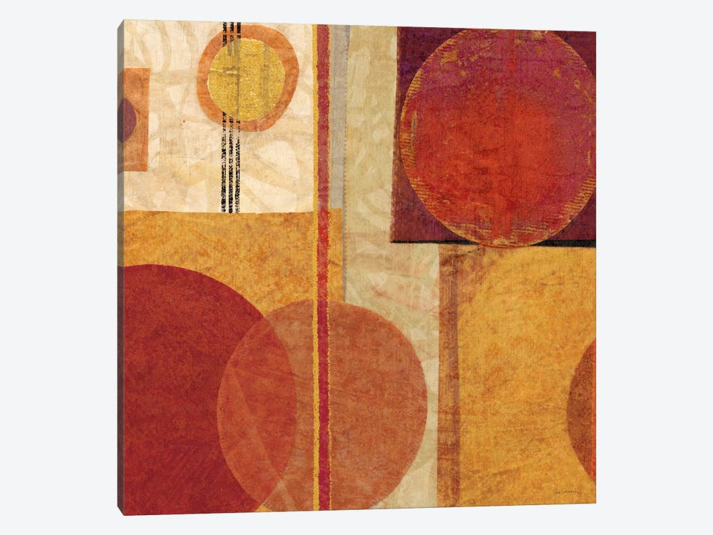 Geo Tea I by Sue Schlabach 1-piece Canvas Artwork
