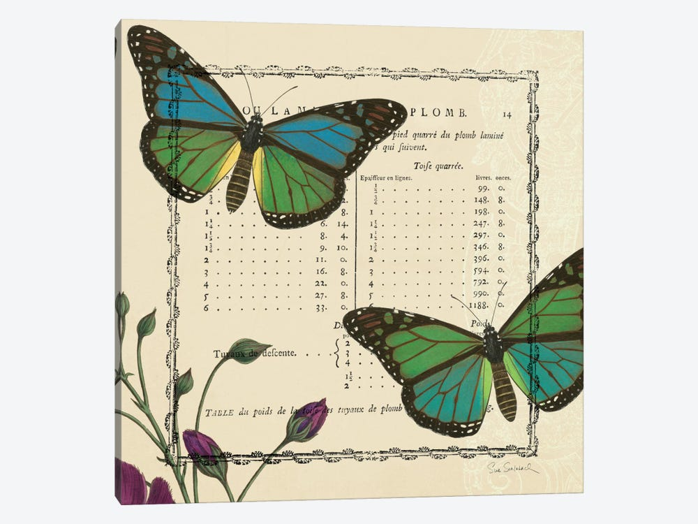 Summer Pages IV by Sue Schlabach 1-piece Art Print