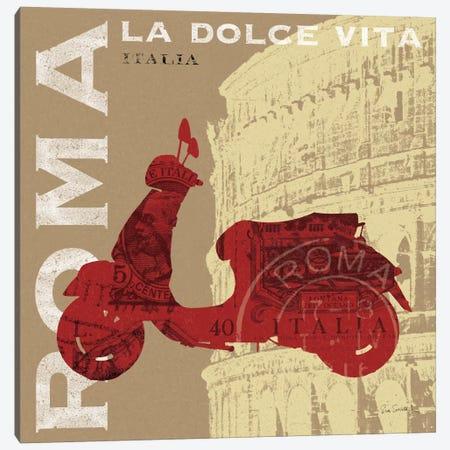 Motoring in Rome Canvas Print #WAC1826} by Sue Schlabach Canvas Artwork