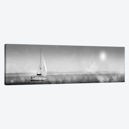 Lake Sail Canvas Print #WAC1827} by Sue Schlabach Canvas Wall Art
