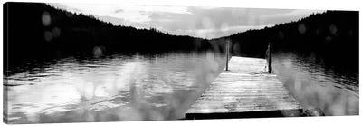 Twilight Dock Canvas Print #WAC1828