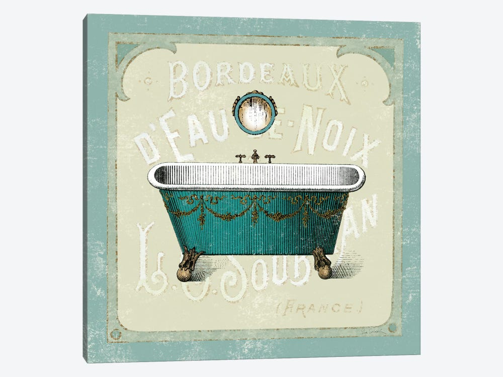 Parisian Bath IV  by Sue Schlabach 1-piece Art Print