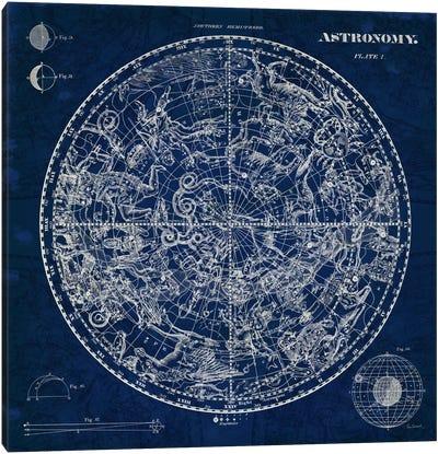 Celestial Blueprint  Canvas Art Print