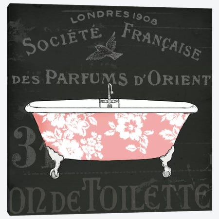 Chalkboard Bath II  Canvas Print #WAC1855} by Sue Schlabach Canvas Art Print