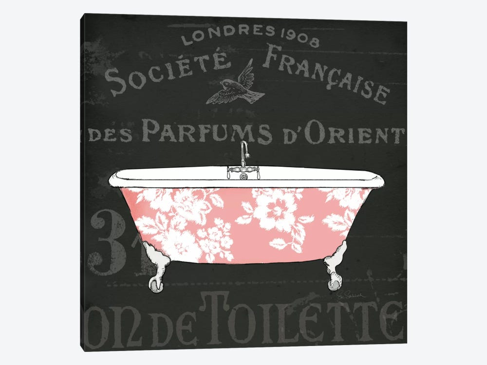 Chalkboard Bath II by Sue Schlabach 1-piece Art Print