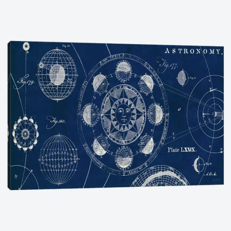 Blueprint Astronomy  Canvas Print #WAC1858} by Sue Schlabach Canvas Wall Art