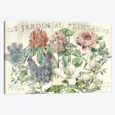 Le Jardin Printemps  Canvas Print #WAC1859} by Sue Schlabach Canvas Artwork