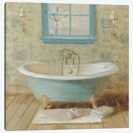 Victorian Bath I Canvas Print #WAC185} by Danhui Nai Canvas Wall Art