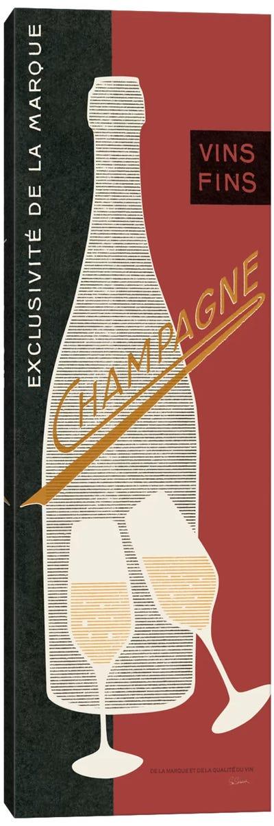 Champagne Toast  Canvas Print #WAC1862