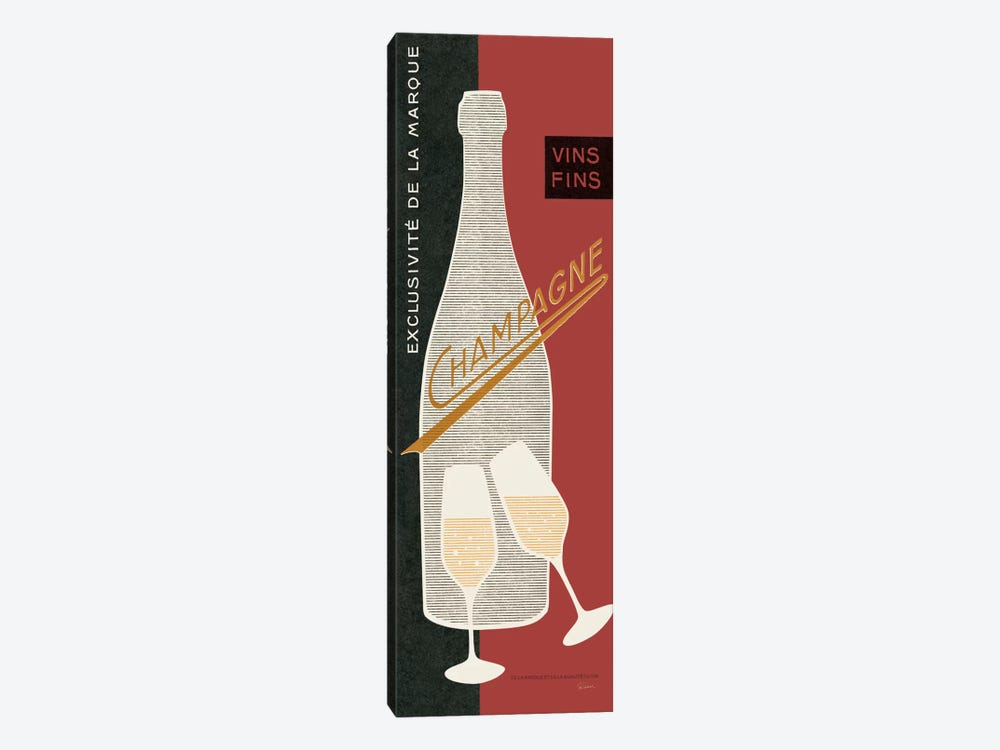 Champagne Toast  1-piece Canvas Art Print